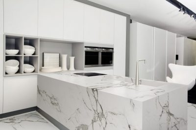 White-Marble-Kitchen-Worktops-–-Pros-Cons